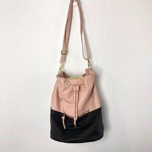 Steve Madden Convertible Backpack Pink & Black